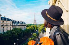 巴黎地标,埃菲尔铁塔。