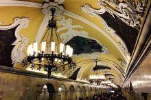 莫斯科地铁-地下宫殿的时光隧道