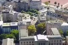 航拍瑞士日内瓦,生活了四年的城市。
