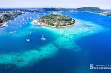 #神奇的酒店   在太平洋感受一岛一酒店