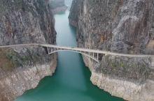 晴隆县长流乡一线天桥