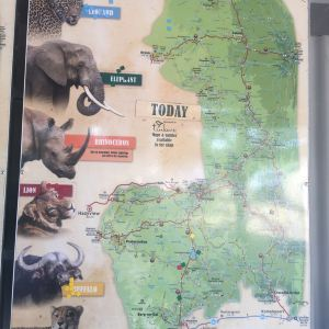 克鲁格国家公园旅游景点攻略图