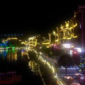 西江夜景旅游景点攻略图