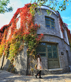 [古北水镇游记图片] 暂离城区,慢游北京郊外最美红叶小镇,邂逅迷人秋色~