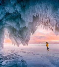 [贝加尔湖游记图片] 在冬季奔赴神秘的贝加尔湖畔,纪念那场难忘的旅程