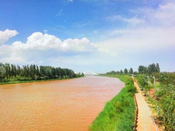 黃河河套文化旅遊區濕地公園