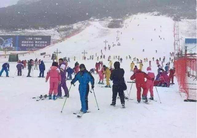 Tieshan Temple Ski Resort