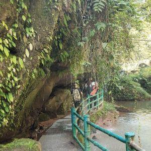 四洞沟景区旅游景点攻略图