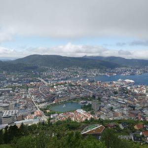 卑尔根鱼市旅游景点攻略图