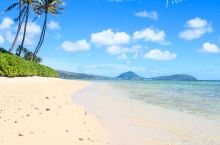 蓝天白云下的夏威夷