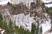 冬日的雪中天鹅堡才是真正的童话世界啊