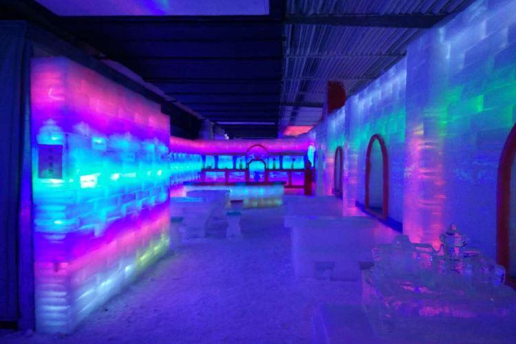 Three Bear Ice and Snow Kingdom Ice Sculpture Hall1