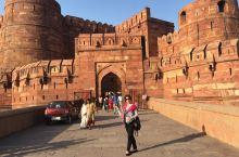 印度阿格拉红堡之旅……