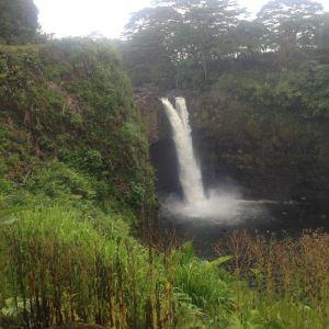 彩虹瀑布旅游景点攻略图