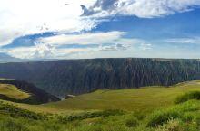 于2017年6月17日去新疆独山子的大峡谷玩!!!