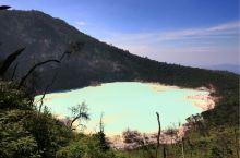 绝美Kawah putih湖