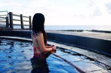 绿岛海边温泉看日出