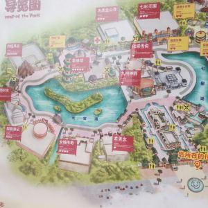 济南方特东方神画旅游景点攻略图
