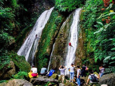 Jiufeng valley of Three Gorges