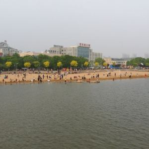 清风湖公园旅游景点攻略图