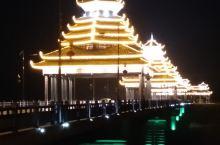 三江夜景,醉美侗乡让到来的客人留连忘返。