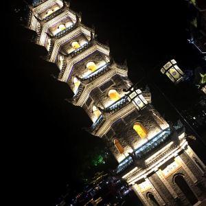 万名塔旅游景点攻略图