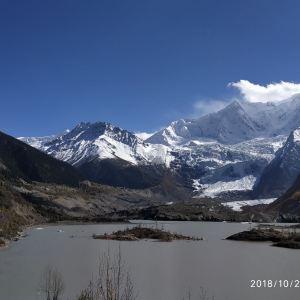 米堆冰川旅游景点攻略图