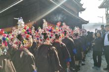 美丽的侗寨秀美的乡村,民风纯朴待客热情高秀村红薯节