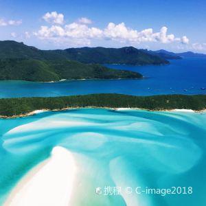 白天堂海滩旅游景点图片