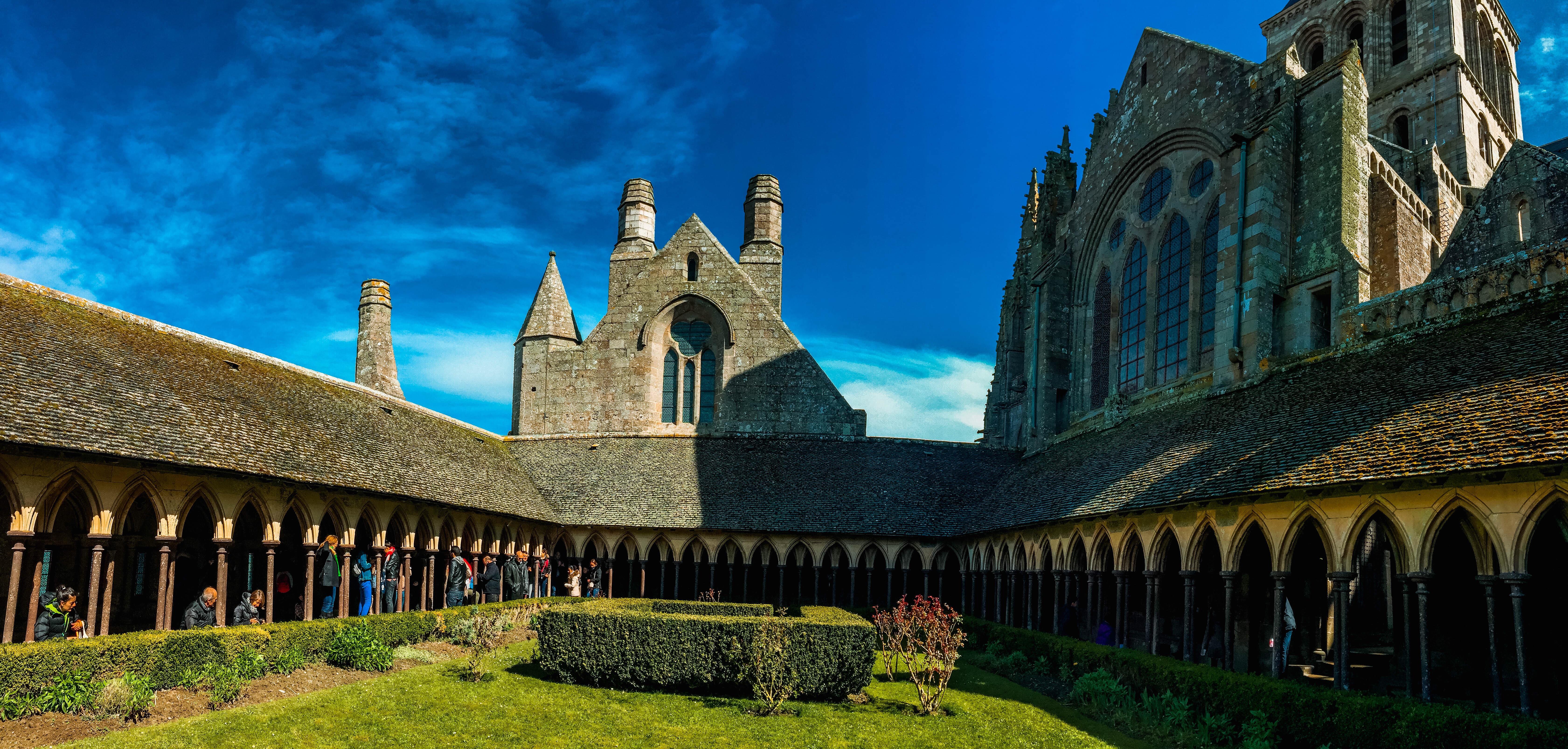 圣米歇尔山修道院旅游景点图片