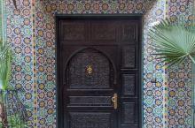 摩洛哥各式各样的门
