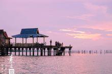 印尼民丹岛 在大海中央的网红餐厅