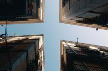 巴塞罗那的城市线条
