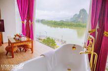 广东网红民宿❤️躺在浴缸就能欣赏山水美景