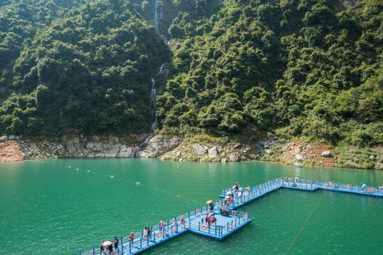 龍景大峽谷瀑布群4