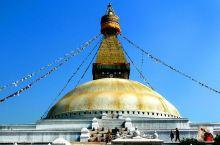 世界上最大的佛塔之一——博大哈大佛塔