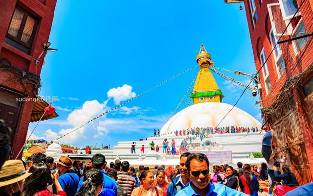 全世界最大佛塔位于尼泊尔,紧连中国西藏,已列入世界遗产