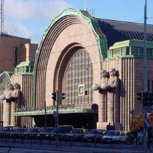 赫尔辛基中央火车站旅游景点攻略图
