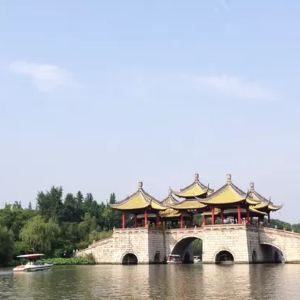五亭桥旅游景点攻略图