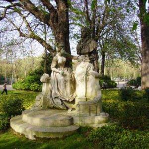 卢森堡公园旅游景点攻略图