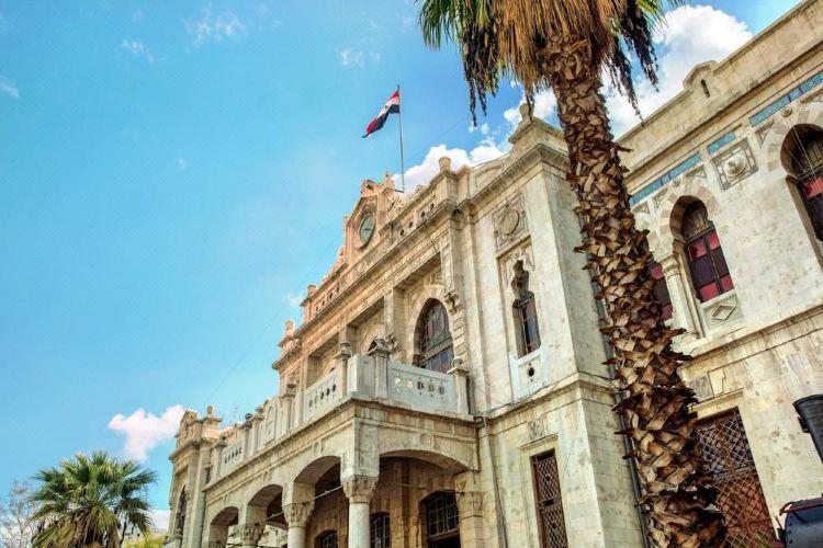 Al Hijaz Train Station