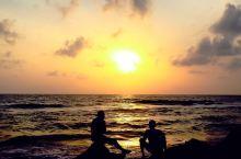 魅力的海滨首都城市,科伦坡的黎明与黄昏