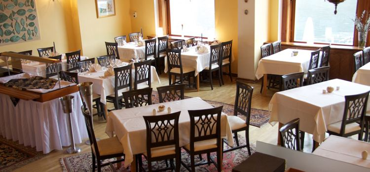 Restaurant im Seehotel Gruner Baum2