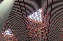 首都机场三号航站楼的的天花板