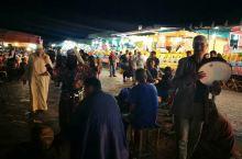 马拉喀什的夜市