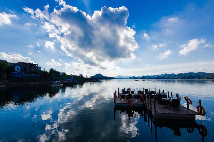 千島湖文淵獅城度假區(水下古城)2