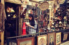 阿根廷的古董街