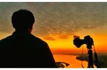 石表山的日落