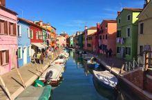意大利彩色岛 梦幻的童话世界