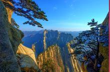 奇险华山,一座山就是一整块石